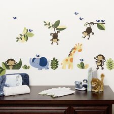 Jungle 123 Wall Decal