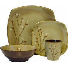 Blossom 16 Piece Dinnerware Set