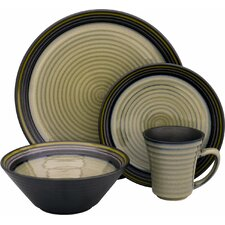Tropica 16 Piece Dinnerware Set