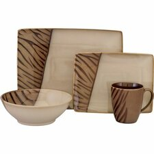 <strong>Sango</strong> Safari 16 Piece Dinnerware Set