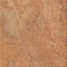 "Tundra 18"" x 18"" Glazed Porcelain Field Tile in Autumn"