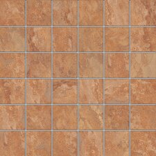 "<strong>Florim USA</strong> Tundra 12"" x 12"" Glazed Porcelain Mosaic in Autumn"