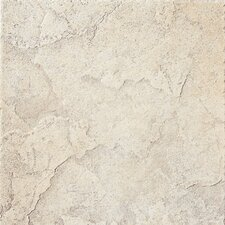 "<strong>Florim USA</strong> Marquessa 12"" x 12"" Glazed Porcelain Field Tile in Manor White"