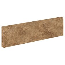 "Copper Ridge 12"" x 3"" Bullnose Tile Trim in Jasper Tan"