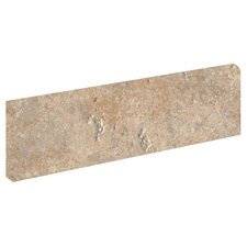 "Navajo 12"" x 3"" Bullnose Tile Trim in Sagebrush"