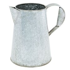 Flower 1.75-Gallon Carafe Galvanized Planter