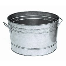 Round Steel Beverage Tub