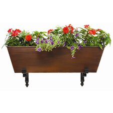 Galvanized Tin Rectangular Flower Box Planter
