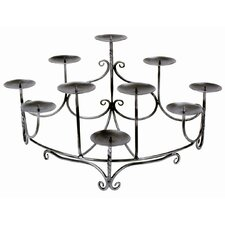 Spandrels Hearth Iron Candelabra