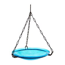 <strong>ACHLA</strong> Crackle Hanging Birdbath