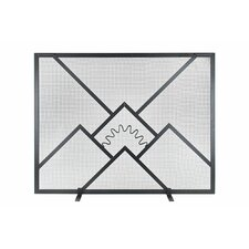 Sunrise Fireplace Screen