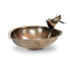 Heart Shaped Birdbath with Stand