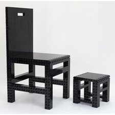 <strong>JEKCA</strong> Homebuilder Kids' Table and Chair Set