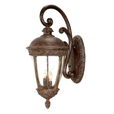 <strong>Acclaim Lighting</strong> Fleur de Lis 3 Light Wall Lantern