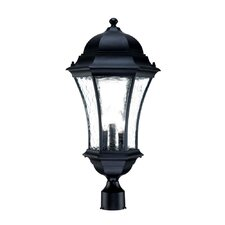 <strong>Acclaim Lighting</strong> Waverly 3 Light Outdoor Post Lantern