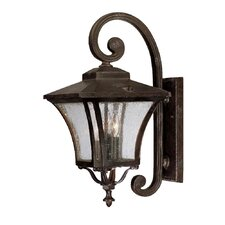 Tuscan 3 Light Wall Lantern
