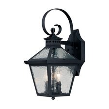 Bay Street 2 Light Wall Lantern