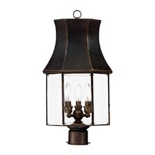 <strong>Acclaim Lighting</strong> Lincoln 3 Light Outdoor Post Lantern