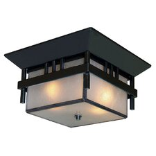 Bali 2 Light Flush Mount