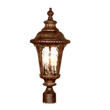 "Surrey 3 Light 9.75"" Outdoor Post Lantern"