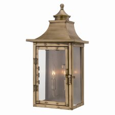 <strong>Acclaim Lighting</strong> St. Charles 2 Light Outdoor Wall Lantern