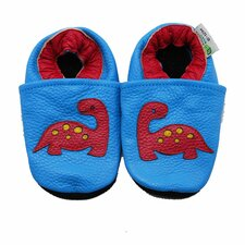 Dino Soft Sole Leather Baby Shoes
