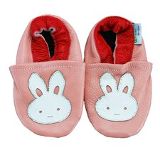 Bunny Soft Sole Leather Baby Shoes