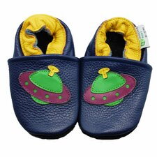 <strong>Augusta Baby</strong> UFO Soft Sole Leather Baby Shoes