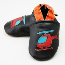 Helicopter Soft Sole Leather Baby Shoes