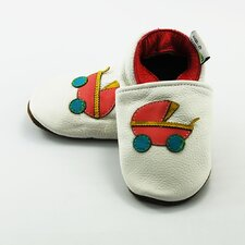 Baby Stroller Soft Sole Leather Baby Shoes