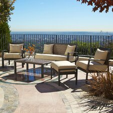 <strong>RST Outdoor</strong> Zen 5 Piece Deep Seating Group with Cushions