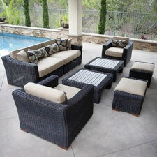 Resort Collection 8 Piece Deep Seating Group