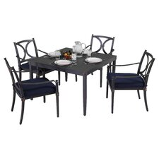 Astoria 5 Piece Dining Set with Cushions