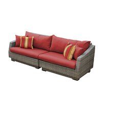 Cannes 2 Piece Sofa with Cushions