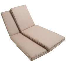 Delano Lounger Mattress Cushion Set (Set of 2)