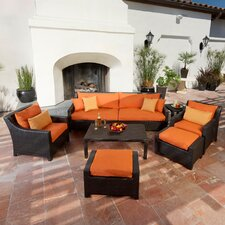 <strong>RST Outdoor</strong> Tikka 8 Piece Deep Seating Group with Cushions