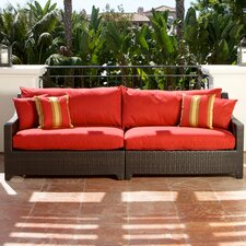 Cantina Deco Patio Sofa with Cushion