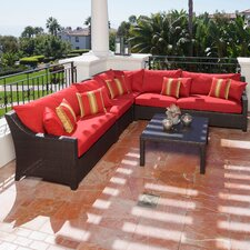 <strong>RST Outdoor</strong> Cantina 6 Piece Deep Seating Group with Cushions