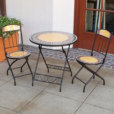 Navajo Ring Decorative 3 Piece Bistro Set