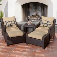 <strong>RST Outdoor</strong> Delano 5 Piece Deep Seating Group with Cushions