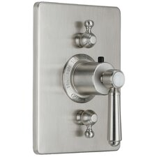 Topanga StyleTherm Volume Control Square Shower Faucet Trim
