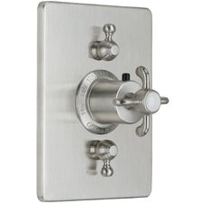 Humboldt StyleTherm Dual Volume Control Square Shower Trim