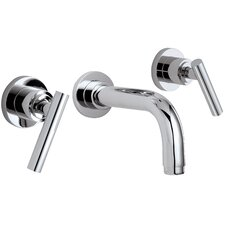 Montara Double Handle Wall Mounted Vessel Lavatory Faucet Trim