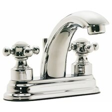 "Venice ""J"" Style Double Handle Centerset Bathroom Faucet"