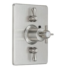 Cardiff StyleTherm Volume Controls Square Shower Trim