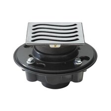 """Deluxe Wave Shower Drain Set with 3"""" O.D. Outlet"""