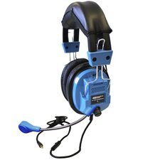 Deluxe Stereo Headphone with Goose Neck Microphone