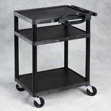 Multi-Purpose Height Adjustable AV Cart