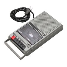 Cassette Recorder with 2 Jacks