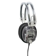Clear Earcup Deluxe Volume Control Headphone